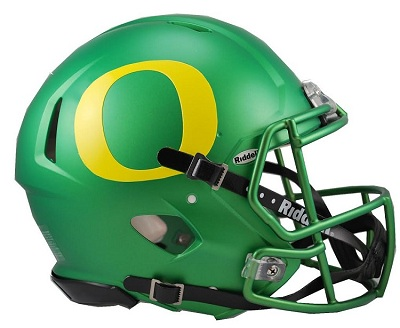 Oregon Ducks Football Helmets 2014 University of O...
