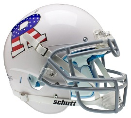 Authentic Rutgers Flag White XP Helmet by Schutt
