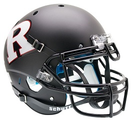 Authentic Rutgers White R XP Helmet by Schutt