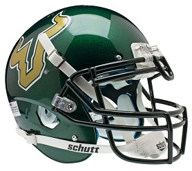 Authentic University of South Florida Alternate Green XP Helmet