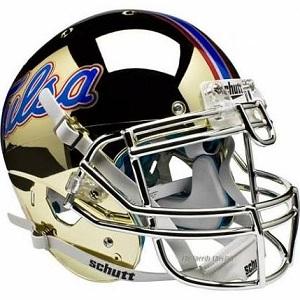 University of Tulsa Gold Chrome XP Helmet