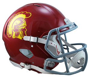 University of Southern California Trojans Authentic Football Helmet
