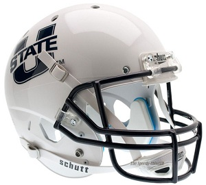 Utah State Replica White XP Helmet