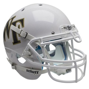 Wake Forest White XP Football Helmet