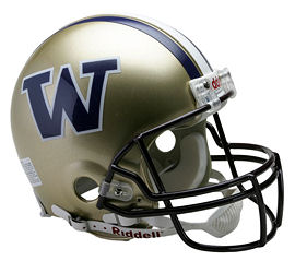 University of Washington Huskies Authentic Football Helmet by Riddell