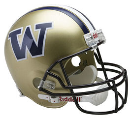 University of Washington Huskies Replica Football Helmet by Riddell