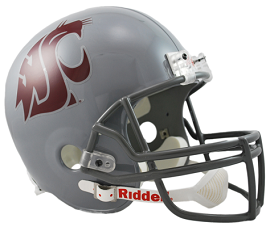 Washington State Cougars Replica Football Helmet by Riddell