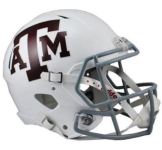 Texas A M Aggies Football Helmets